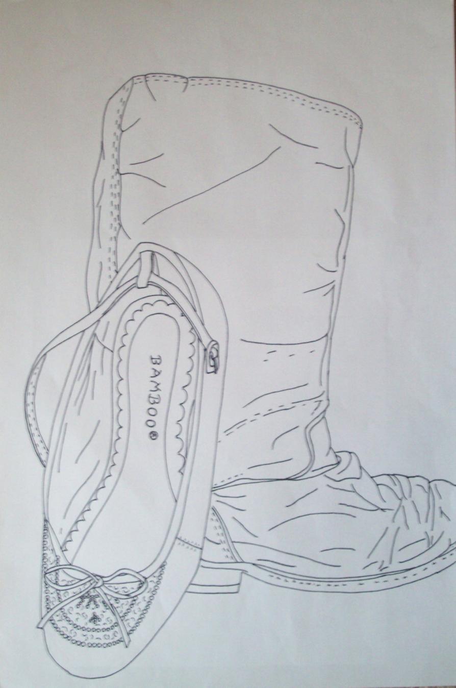 f3563249acb P D Contour Drawing 7 8 - Lessons - Tes Teach