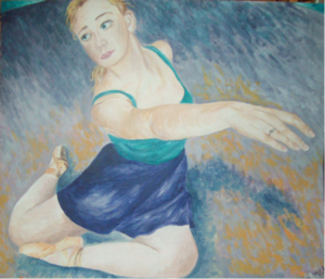 Foreshortened Dancer