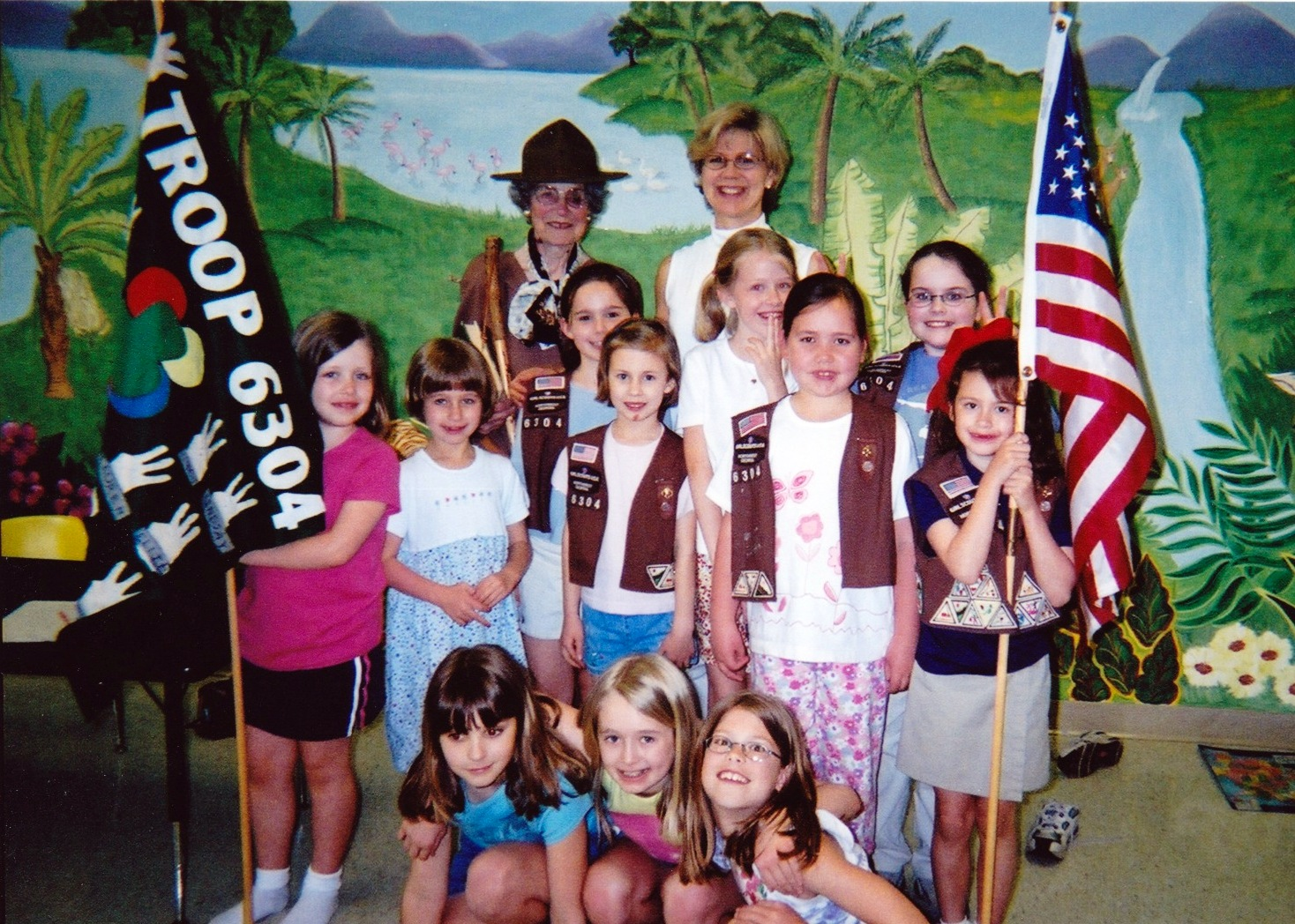 Gold Award Girl Scouts Juliette Low Founder Presenting
