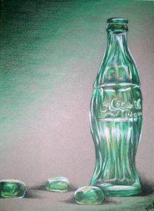 Coca cola still life